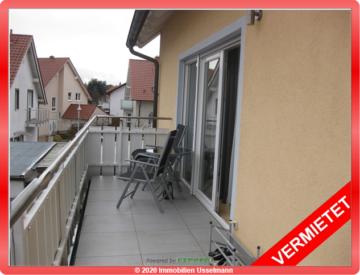 4-Zimmer-Maisonette-Wohnung mit 2-Balkonen und Einbauküche!, 67574 Osthofen, Etagenwohnung